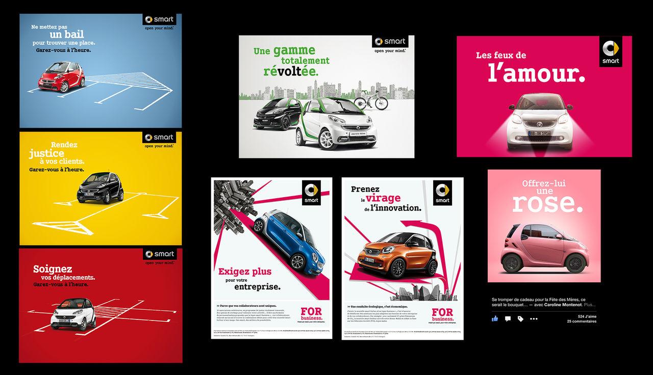 Smart brochures et mailings print