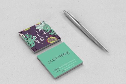 Logo + branding JadenBox