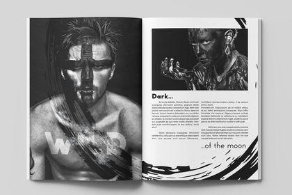 Exemple mise en page magazine
