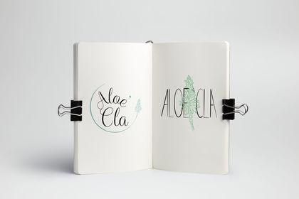 Propositions de logo pour la marque Aloe'Cla