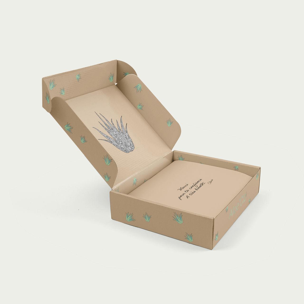 Packaging box cosmétique