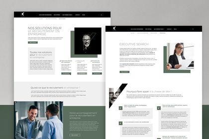 Identité visuelle - site web