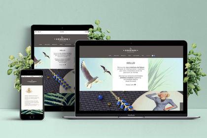 Les cousines - Webdesign