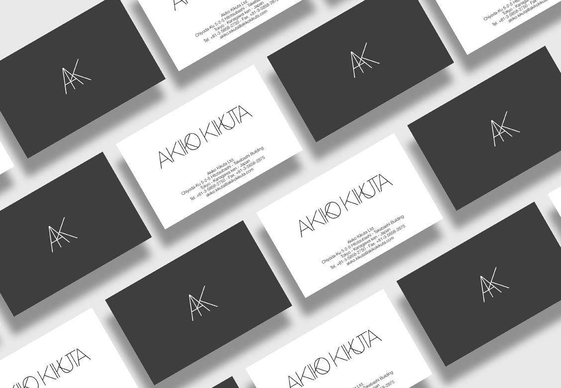 Identité visuelle pour Akiko Kikuta Ltd.