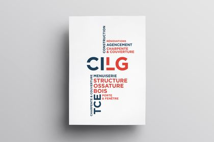 Identité visuelle pour CILG Construction