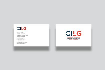 Cartes de visites pour CILG Construction