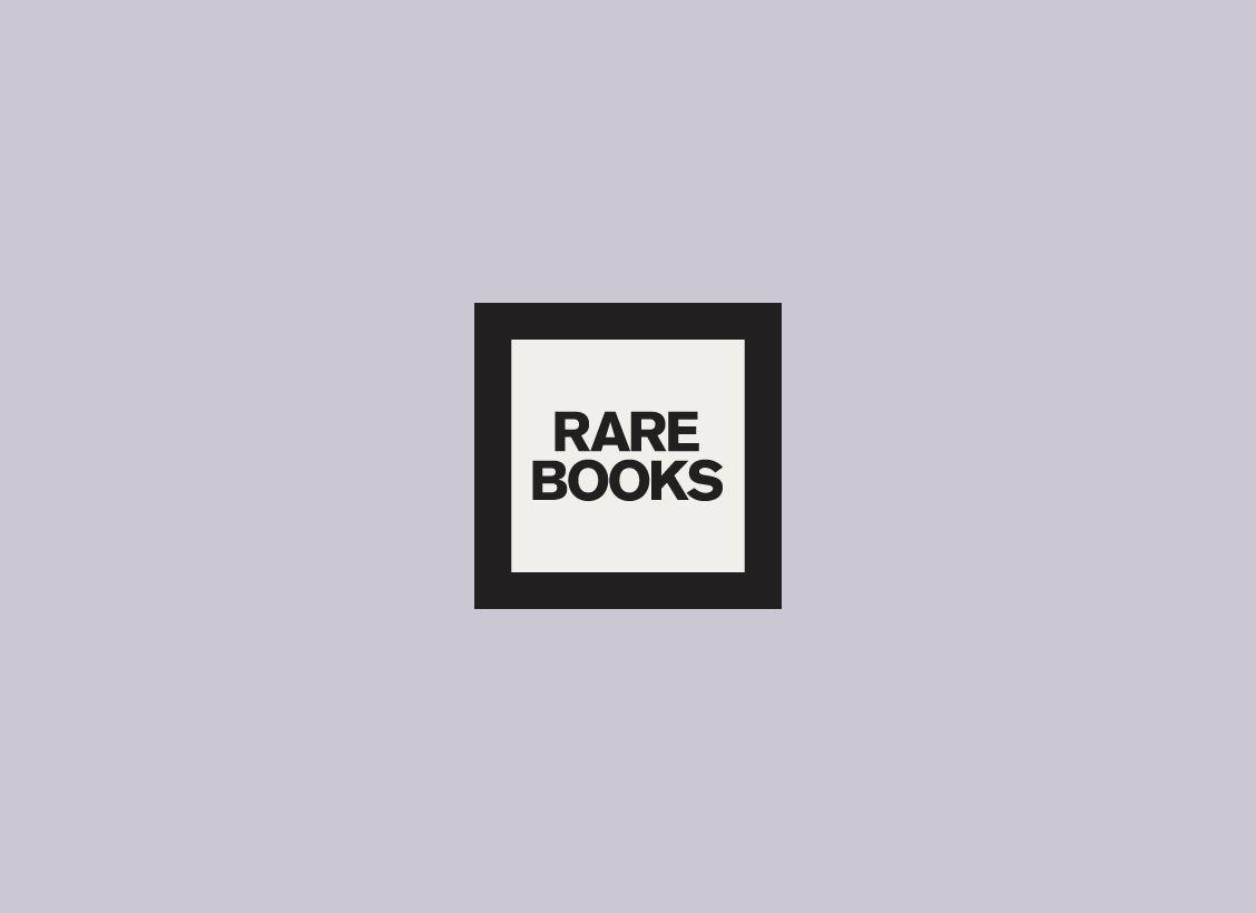Identité visuelle pour Rare Books