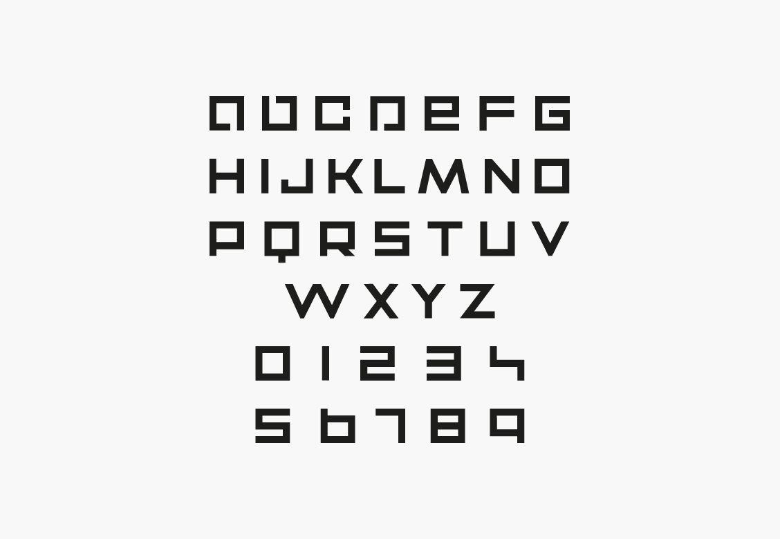 Typographie sur mesure pour Alex Bensimon