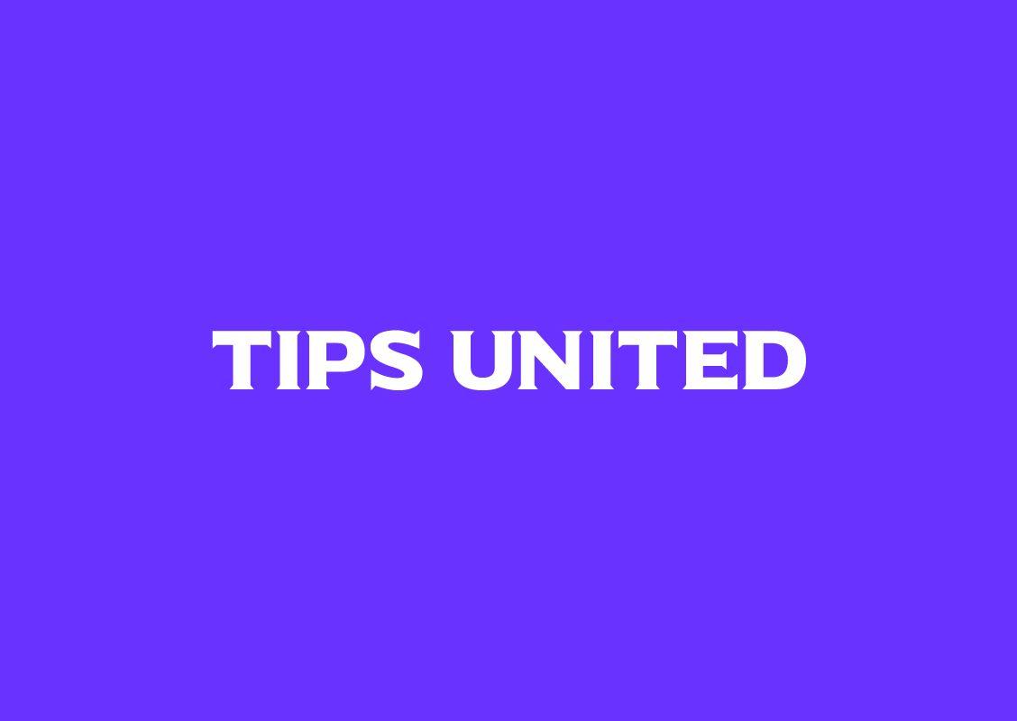 Identité visuelle pour l'application Tips United