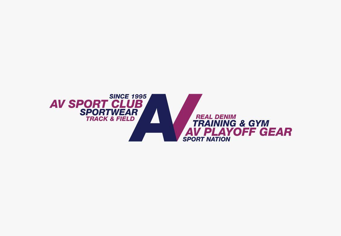 Identité de marque pour AV Sportwear & Club