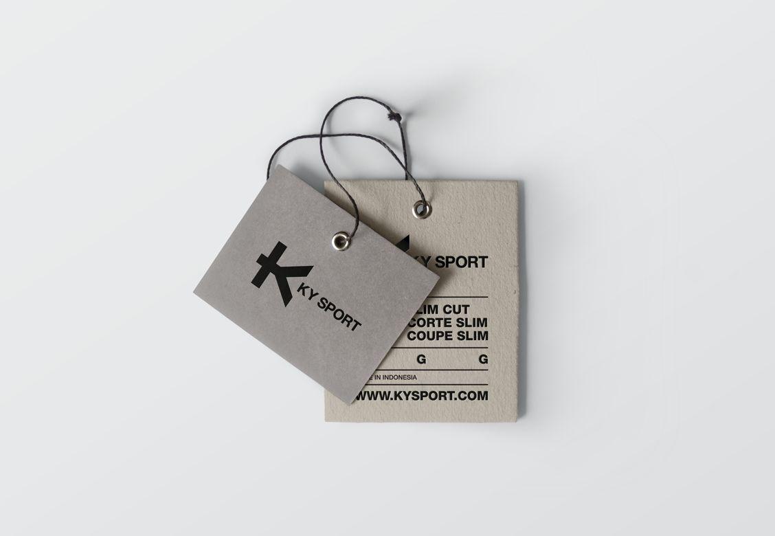 Étiquette pour KY Sport