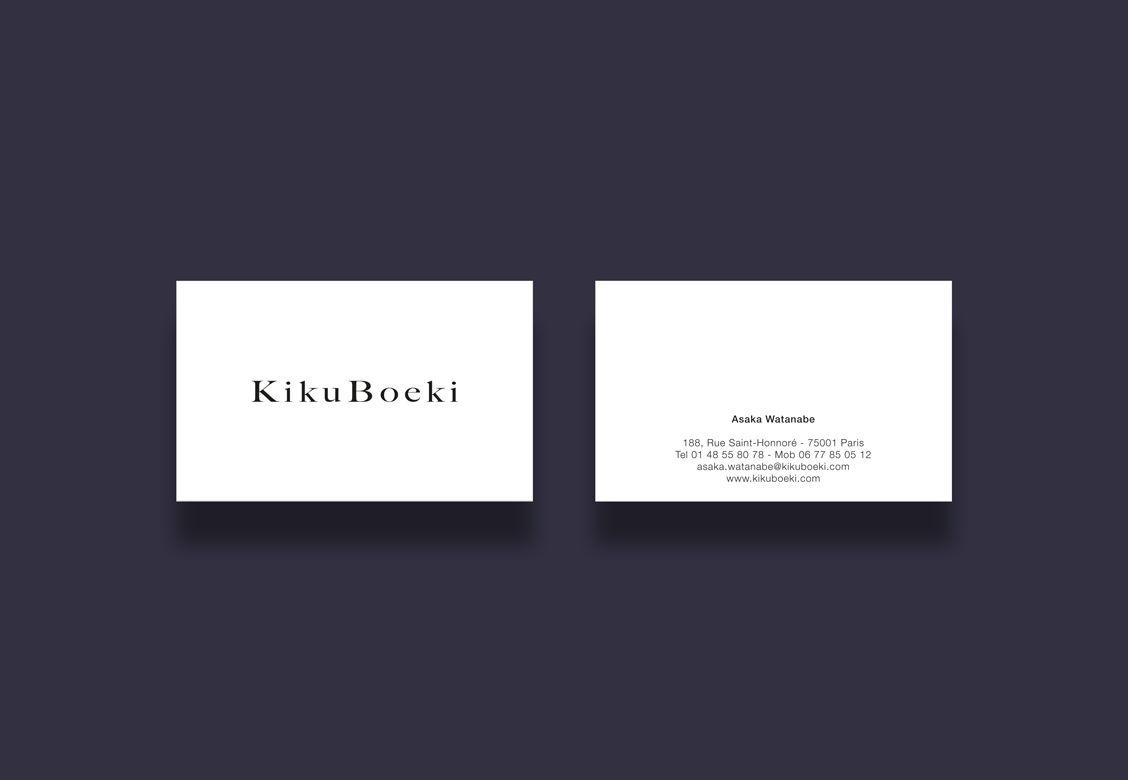 Cartes de visite pour Kiku Boeki