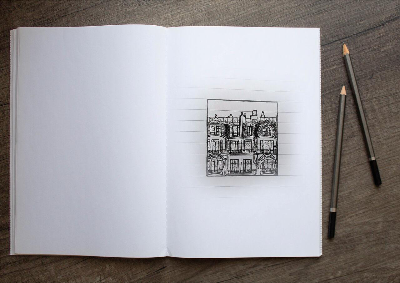 Croquis parisien #2