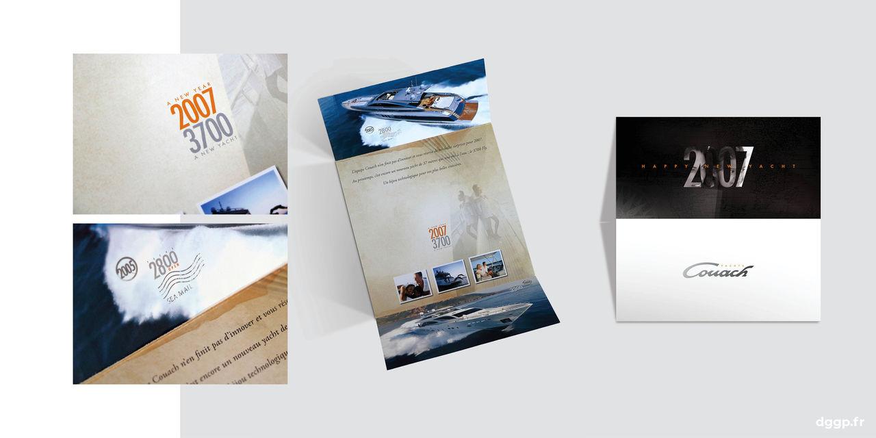 COUACH Yachts Carte de voeux