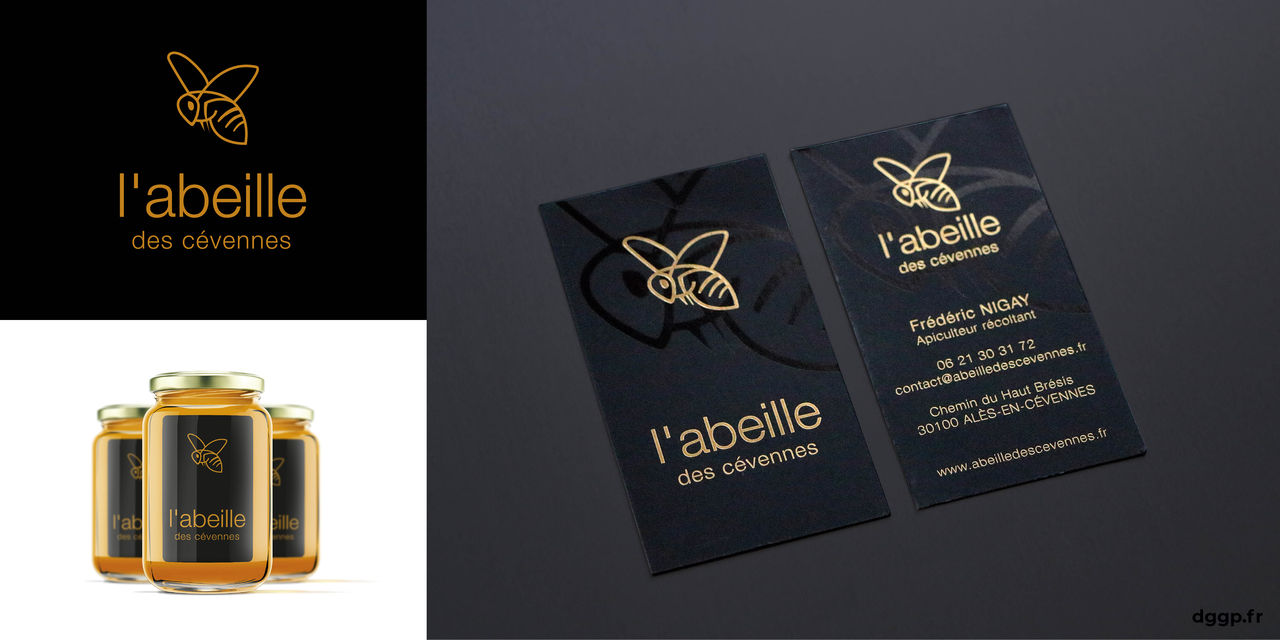 L'abeille des Cévennes Logotype