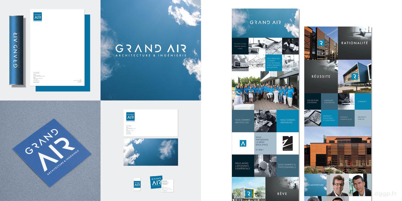 GRAND AIR Identité globale