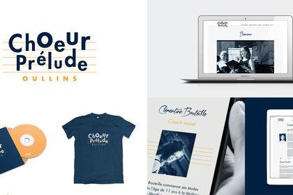 Choeur Prélude Oullins Logotype