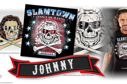 T-shirt Design - Lutteur Americain John Morrison