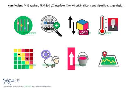 Icones pour UX interface logiciel