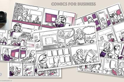 BD, Comics pour Entreprises