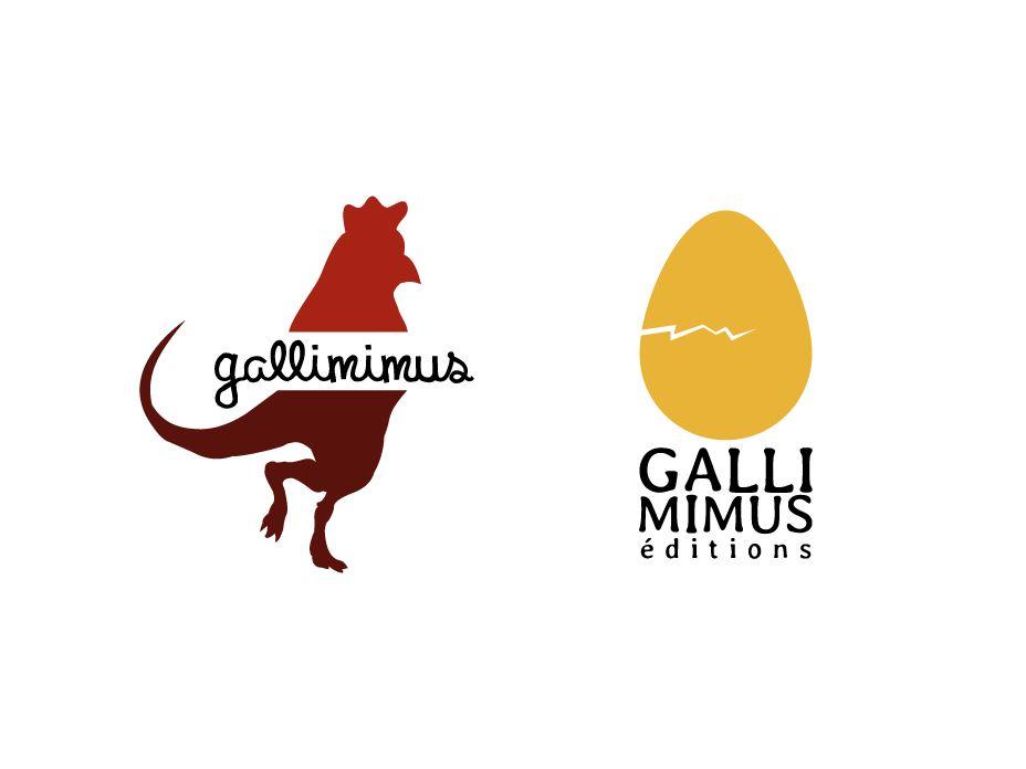 Éditions Gallimimus – Logo