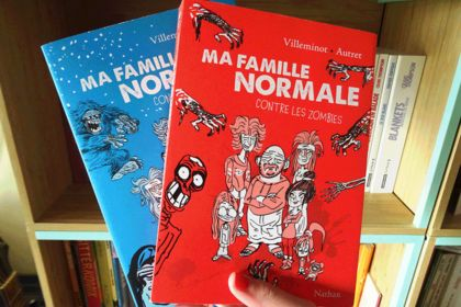 Ma Famille normale – mise en page