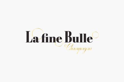Logo pour une marque de champagne