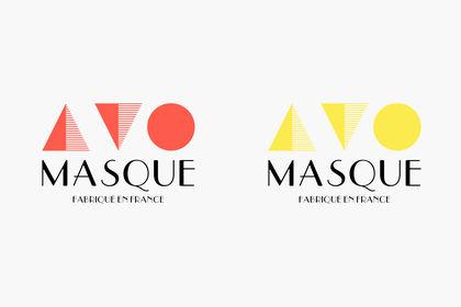 Logo pour la société AVO MASQUES
