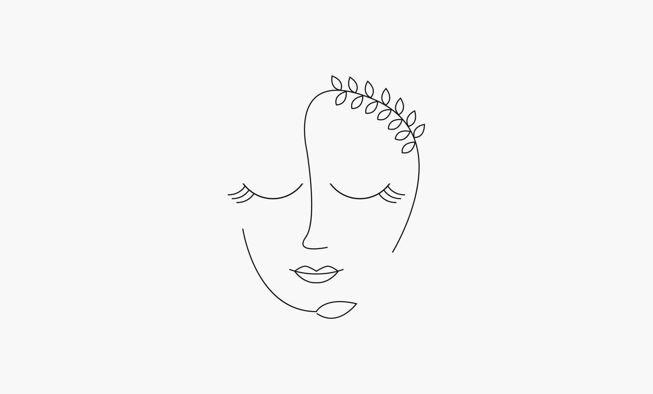 Logo pour une marque de cosmétique bio