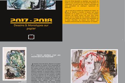 Catalogue d'artiste