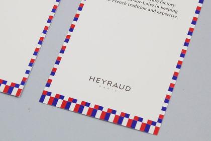 Supports de communication pour la marque HEYRAUD