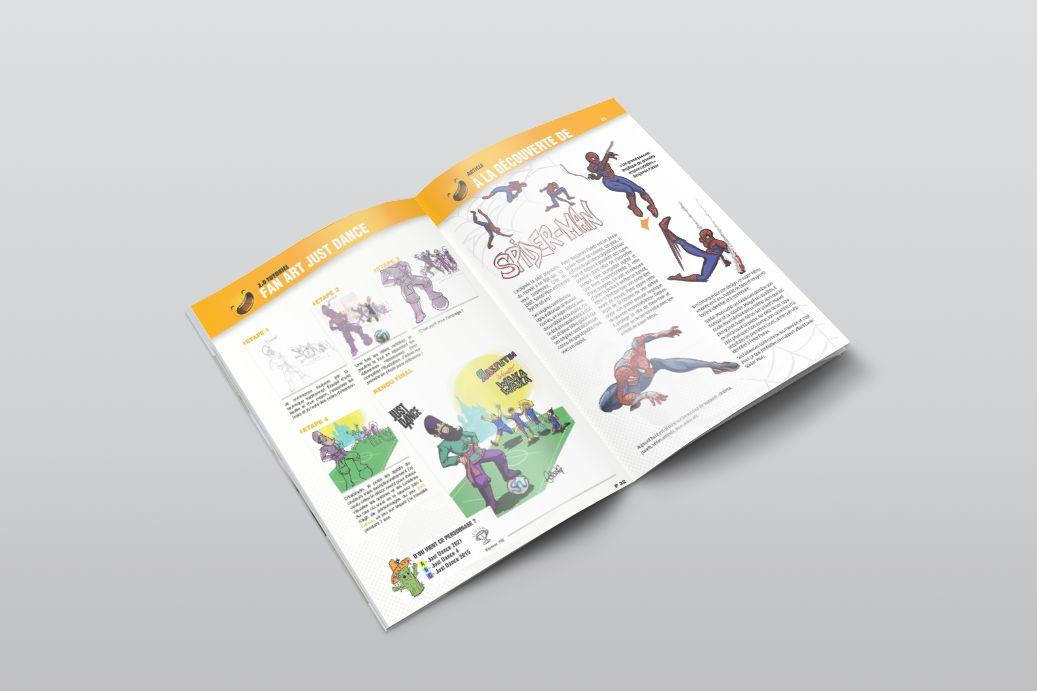 Maquettage magazine LemonArt