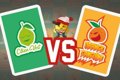 Jeux de carte : Citron contre Orange