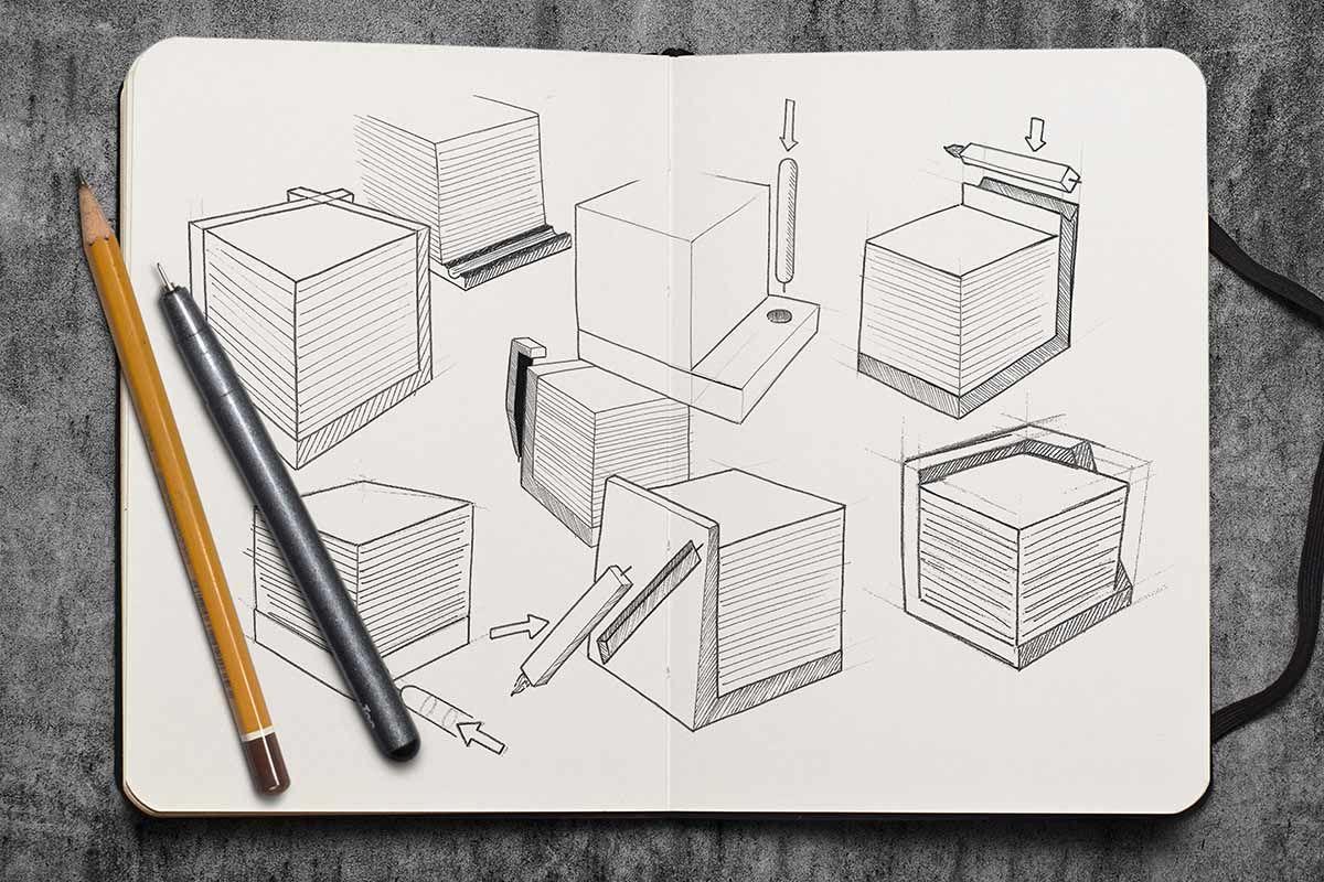 Sketches - Think-Eat, les Post-Its en chocolat
