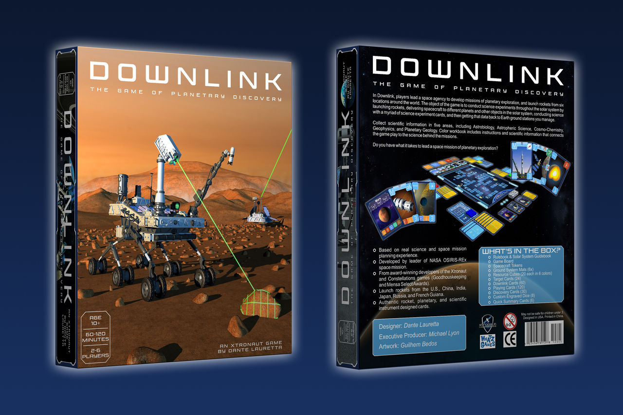 Downlink: The Game of Planetary Discovery