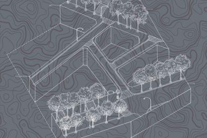 Axonométrie urbaine