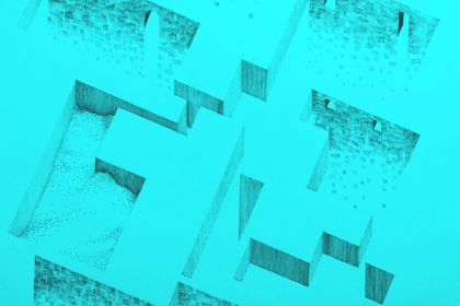 Architecture abstraite illustration
