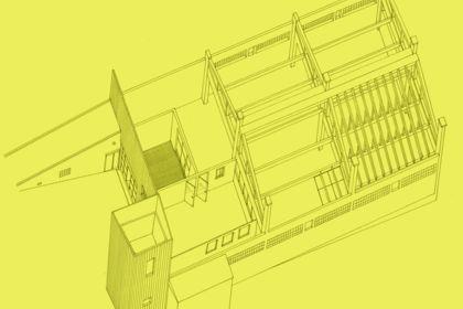 Illustration d'architecture industrielle