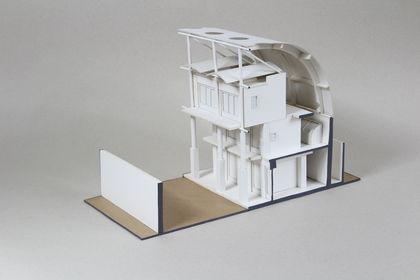 Maquette constructive villa Hamlet, Japon