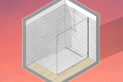 Axonométrie 3D Salle de bain