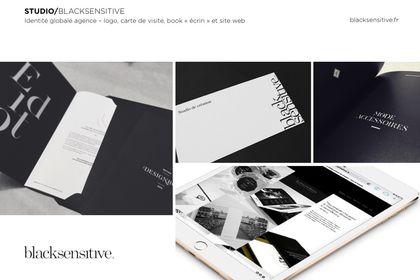 BLACKSENSITIVE / identité globale agence 2015