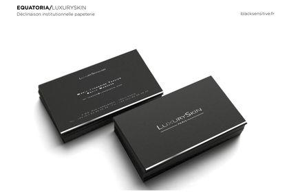 LUXURYSKIN / carte de visite