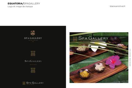 SPAGALLERY / logo et image de marque