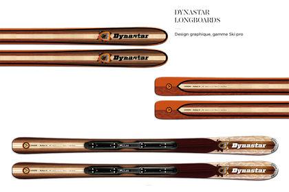 DYNASTAR SKI / Graphic design