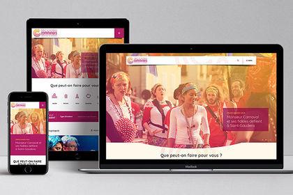 Webdesign de Cœur & Coteaux du Comminges