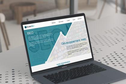 Webdesign de ScaleDev
