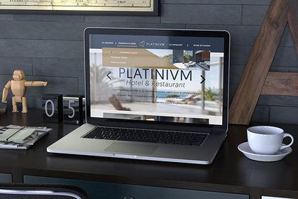 Webdesign de Platinium Hotel
