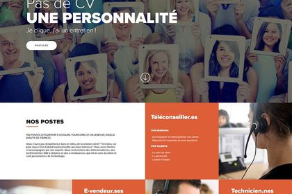 Landing page Boulanger Business Services