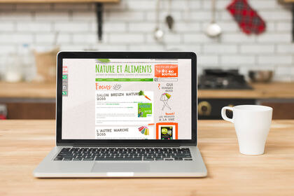Site institutionnel Nature et Aliments