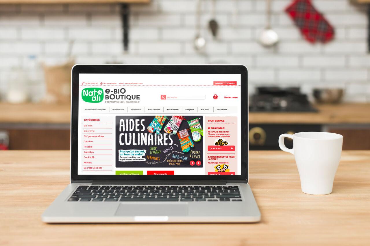 Site e-commerce Nat-Ali